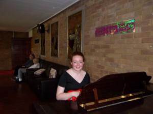 100th Bday piano