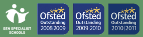 Ofstead Outstanding logos